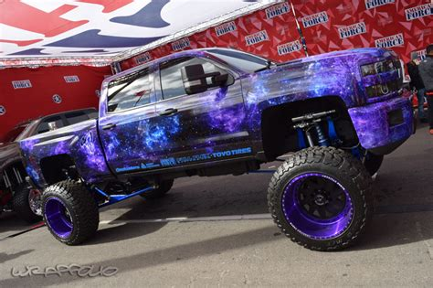 galaxy car wrap 18 awesome purple trucks that will blow you away photos