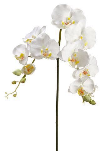 white phalaenopsis silk orchid floral design o131 submersible floating flowers wedding centerpieces