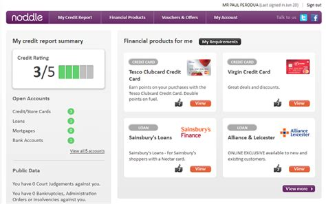 Free Credit Report by Noddle Free Credit Reports Money