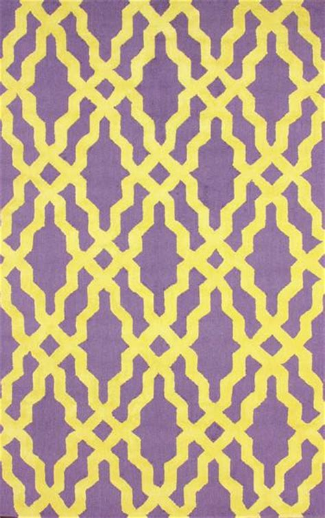 purple and yellow rug nicolette wool and cotton area rug in purple design by nuloom i zinc door