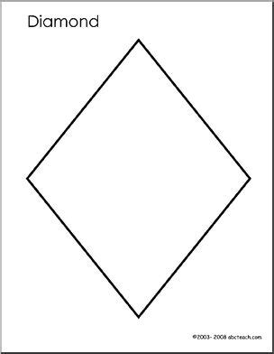 diamond coloring pages preschool tracing diomand colouring pages