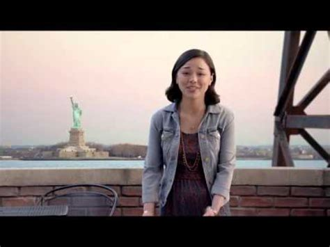 liberty mutual tall asian girl from commercial liberty mutual s brad commercial youtube
