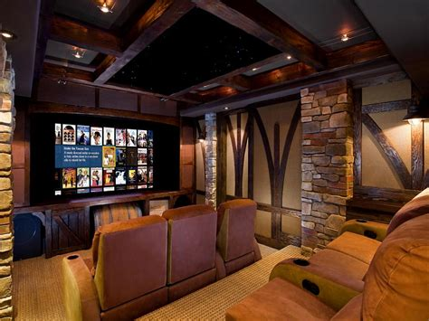 home theaters luxury home decorating excellence 13 high end home theater designs hgtv