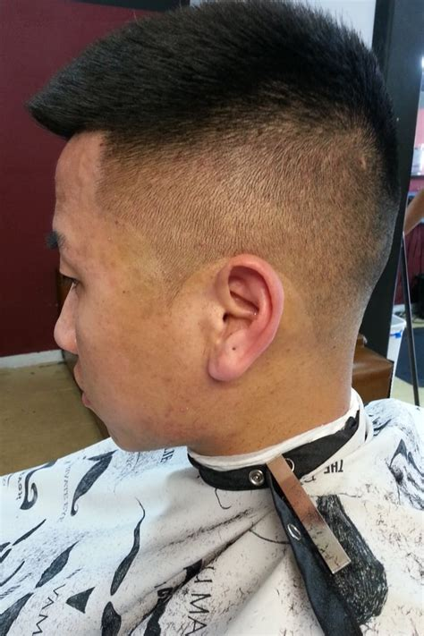 shadow fade with shear work by barber sherm yelp