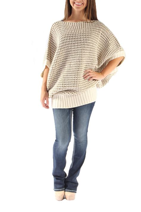 oversized knitted sweaters le lis oversized knit sweater from arkansas by martin s
