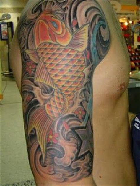 tatto ikan koi di badan tattoo ikan koi koi fish tattoos