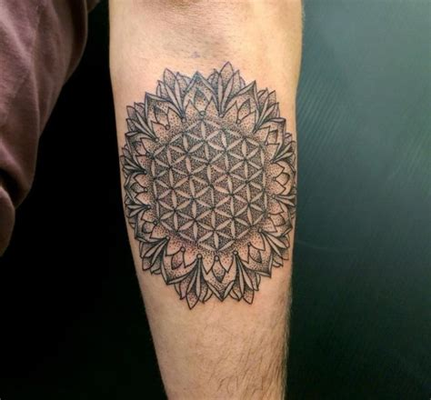 tattoo flower of life 105 cool flower of life tattoo ideas the geometric