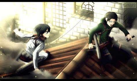 shingeki no kyojin levi x mikasa www imgkid the image kid has it