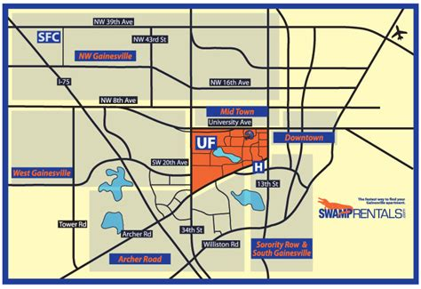 gainesville florida map gainesville map apartment rentals in gainesville fl