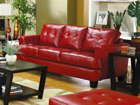 red leather couches decorating ideas sofa glamorous red leather loveseat red leather loveseat