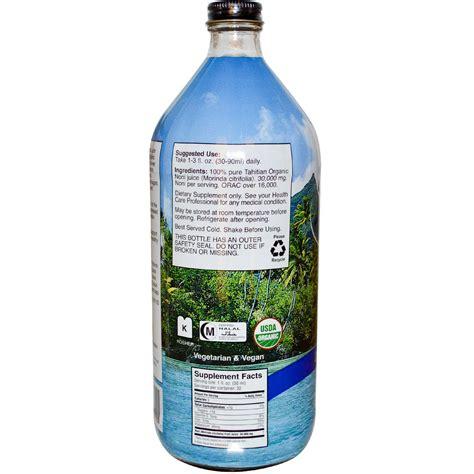 Tahitian Noni Juice earth s bounty tahitian organic noni juice 32 fl oz 946 ml iherb