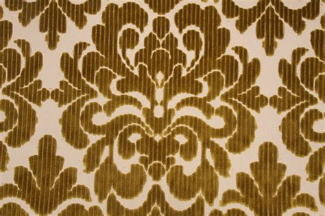 patterned velvet fabric upholstery hamilton tate velvet patterned upholstery fabric in citrine