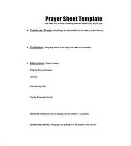 prayer request template prayer list template 8 free word excel pdf format
