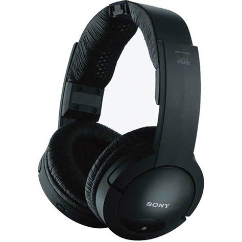 Headset Sony Wireless Sony Mdr Rf985rk Wireless Radio Frequency Headphone Mdrrf985rk