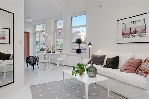 Single Room Living by Small Single Room Apartment In Black And White