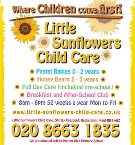 Daycare Advertising Exles by Graphic Design Open Space Advertising Ltd