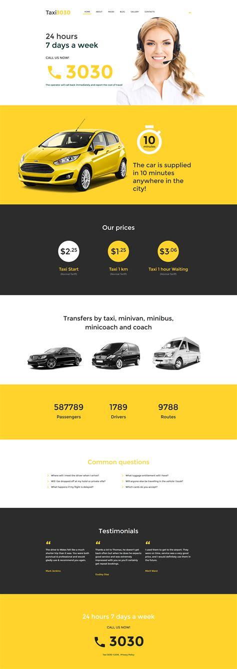 templates joomla em portugues gratis taxi 3030 um template gr 225 tis em joomla para taxi tema