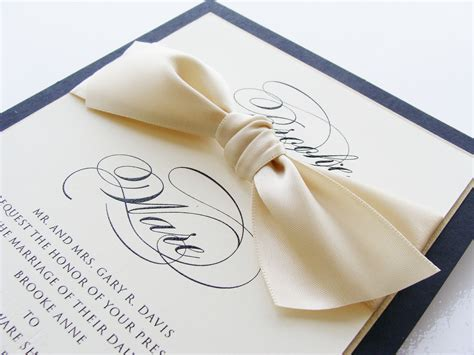Custom Wedding Invitations by Invitation Galleria Custom Letterpress Wedding