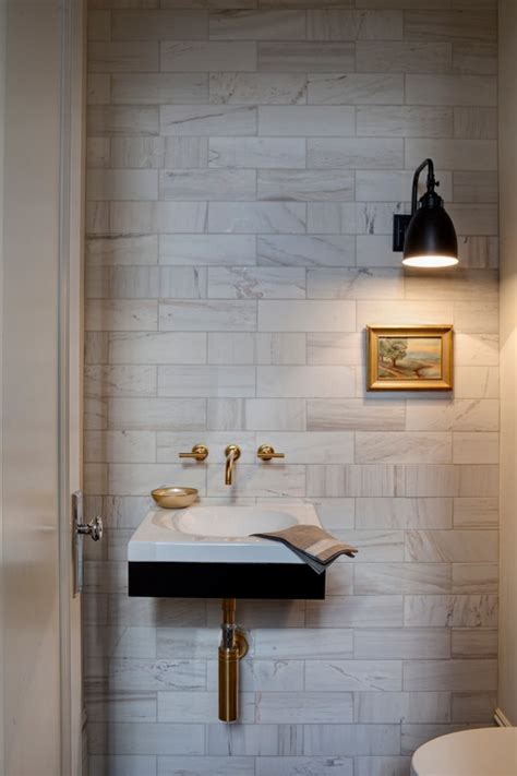 powder room tile ideas 9 worthwhile powder room splurges forbes