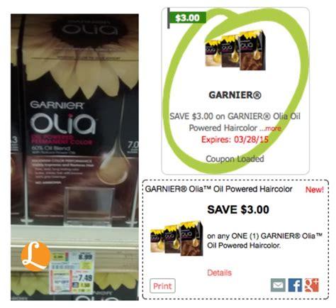 garnier olia printable 2015 coupons olia hair color coupon 2015 garnier maybelline shoprite