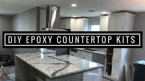 metallic epoxy diy customer install 2 countertop