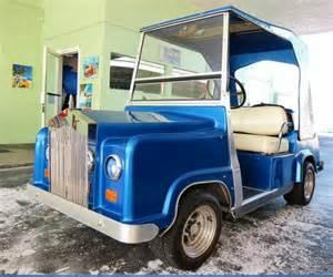 Rolls Royce Golf Carts 1950 Rolls Royce Golf Cart