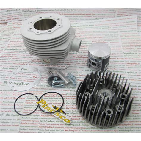 candela vespa px 150 gruppo termico in alluminio pinasco 25032941 190 cc magny