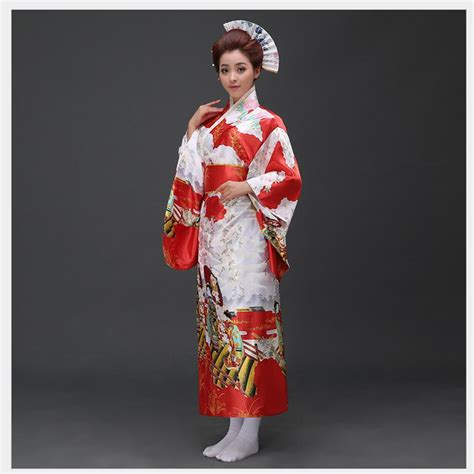 Traditional Kimono Dress aliexpress buy traditional japanese evening