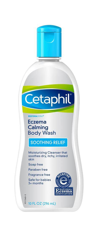 the wash cetaphil restoraderm eczema calming wash 10 ounce
