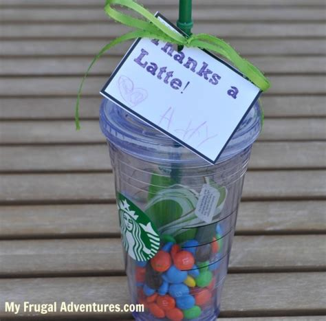 Starbucks Gift Card Designs - teacher gift idea starbucks gift cards my frugal adventures