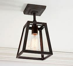 Pottery Barn Greenhouse Pendant Best 25 Flush Mount Lighting Ideas On Pinterest Hallway