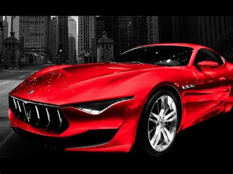 maserati alfieri red 2017 2018 maserati alfieri exhaust note youtube