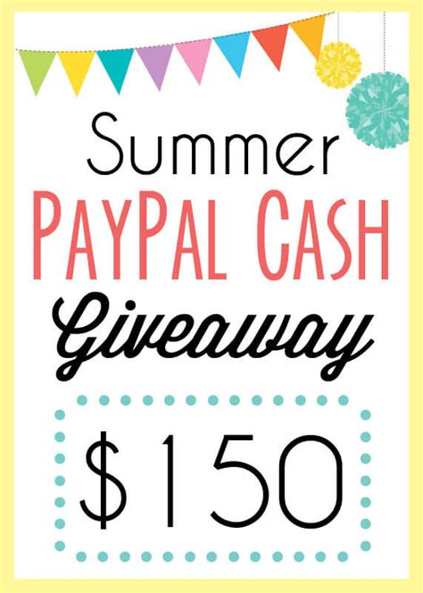 Facebook Money Giveaway - summer 150 giveaway persia lou