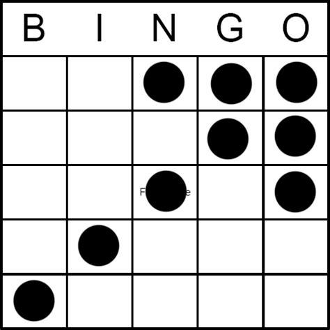 pattern bingo games bingo game pattern crazy arrow