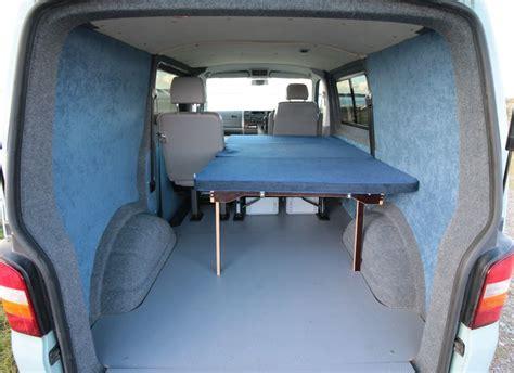 vw transporter cer interior ideas vw transporter kombi bed amdro alternative cervans