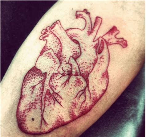 real heart tattoos designs 25 unique human ideas on human