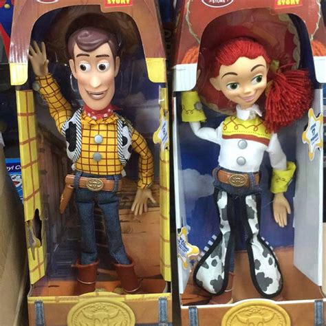 Figure Woody Story Original Mattel Figure Story story figures talking woody pvc collectible model doll anime