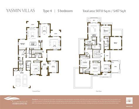 arabian ranches floor plans arabian ranches yasmin floor plans