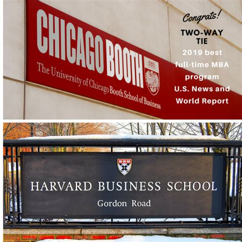 1 Mba Us News by Us News Releases 2019 Best B Schools Ranking