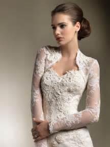 lace jacket wedding dress wedding dresses with sleeves lace sweetheart