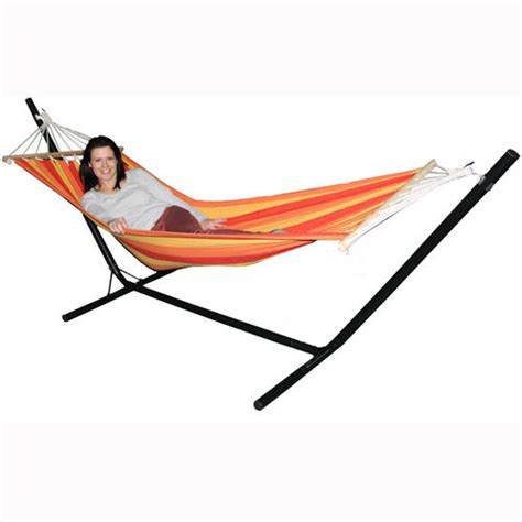 Outdoor Hammock With Stand Redstone Garden Hammock With Stand Hammocks