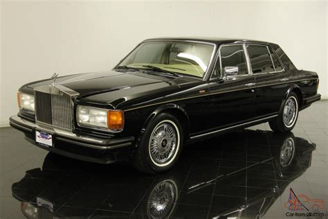 rolls royce chrome 1989 rolls royce silver spirit saloon only 41298 mile