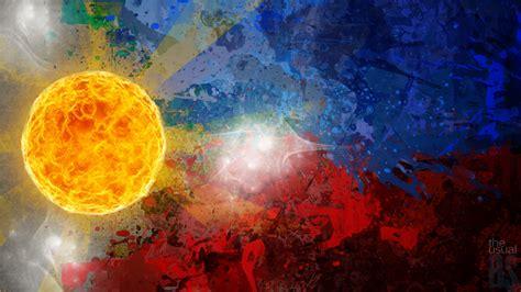wallpaper design philippines the philippine flag by wroiee on deviantart