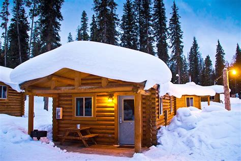 Lodging In Wyoming Cabin by Togwotee Mountain Lodge Jackson Lodging