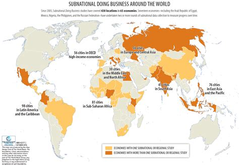 where is the world bank located subnational doing business world bank