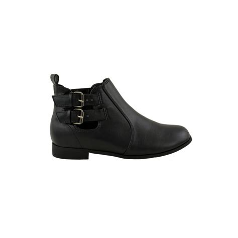 black ankle boots for black flat buckle ankle boots