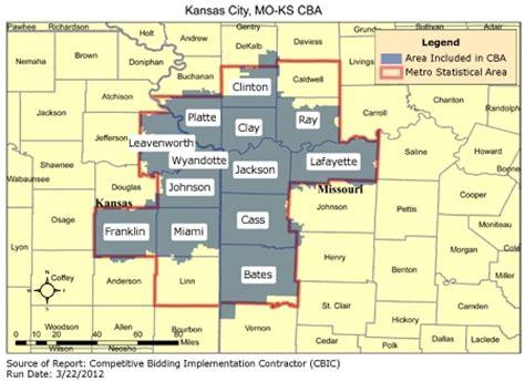 kansas city zip code map cbic 1 recompete competitive bidding area kansas city mo ks cbic cbic