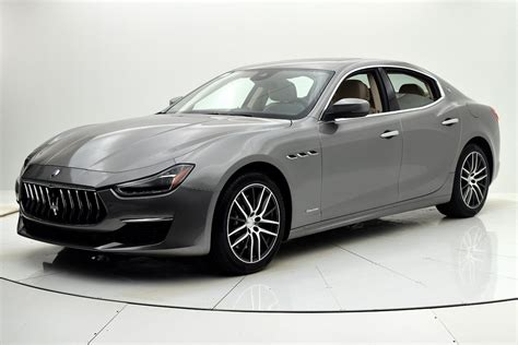 2019 Maserati Cost by New 2019 Maserati Ghibli Sq4 Granlusso For Sale 81 647