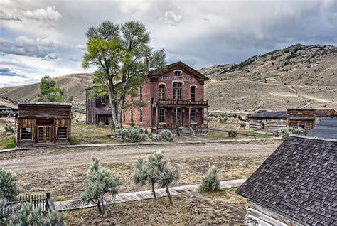 Garnet Mt bannack ghost town main street montana photograph by