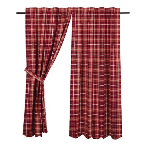 curtains plaid braxton plaid curtains pair www bestwindowtreatments com